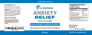 anxiety relief front